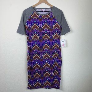 LuLaRoe Julia Geometric Dress